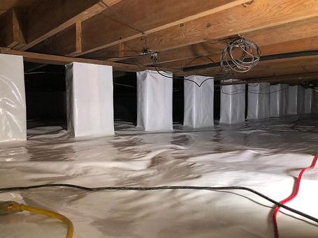 Crawl Space Waterproofing - Crawl Space