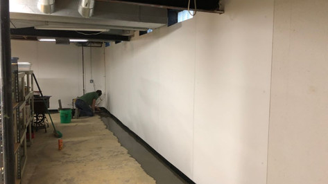 Finished Basement Waterproofing - Michig