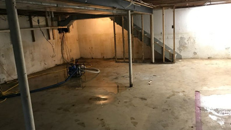 Wet Basement Repair - Basement Repair -