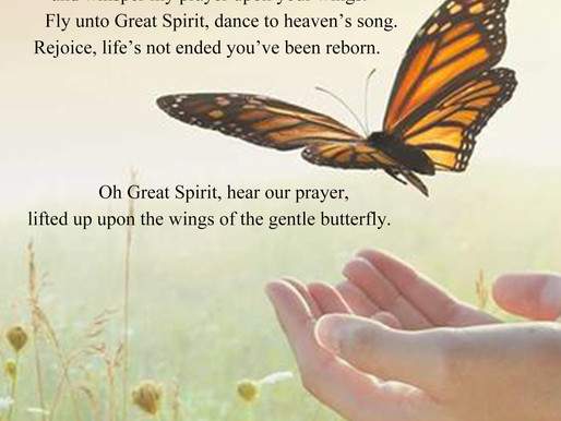 Whisper Your Prayer to a Butterfly