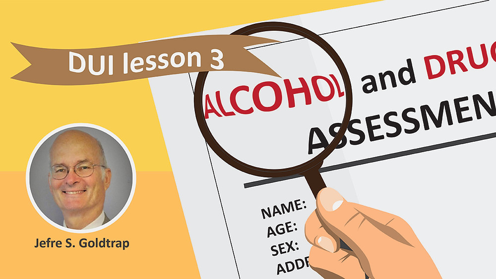 DUI Arrest Lesson 3 talks about what happens during DUI Blood Test
