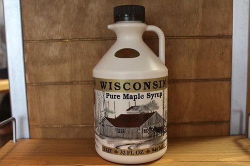 32 oz Wisconsin Pure Maple Syrup - Engel's Sugar Bush