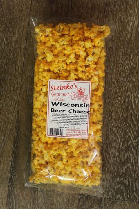 Steinke's Gourmet Popcorn Wisconsin Beer Cheese