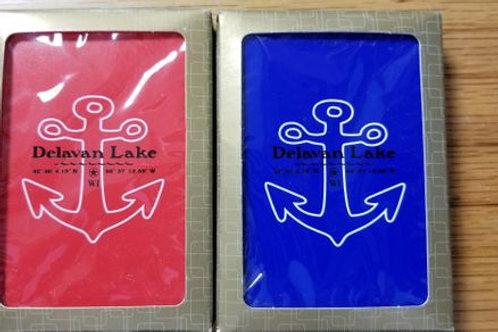Delavan Lake Playing Cards