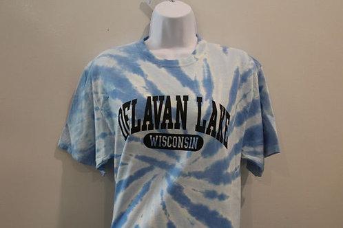 Delavan Lake Blue Tie Dye Shirt