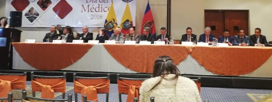 HOMENAJE A LOS MEDICOS DE PICHINCHA QUE CUMPLIERON 25 Y 50 AÑOS DE LABOR PROFESIONAL