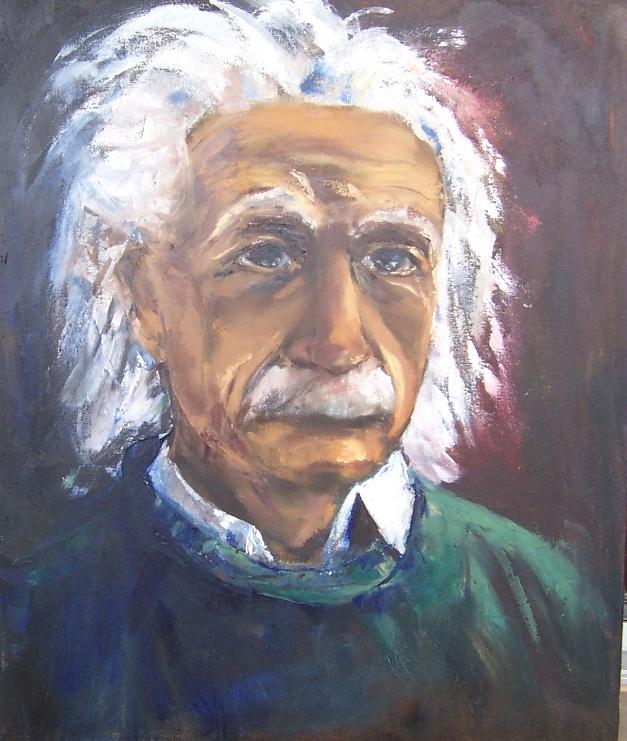 Einstein, huile