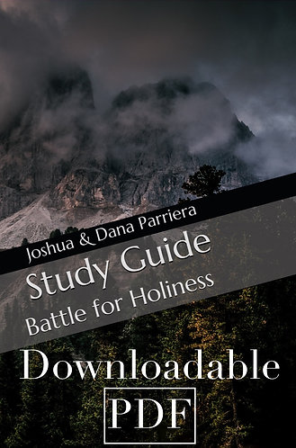 Study Guide: Battle for Holiness (downloadable ebook)