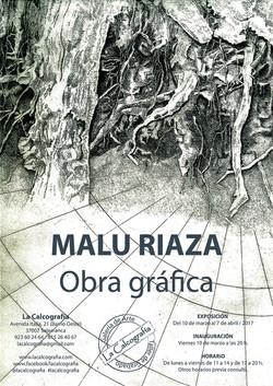 cartel Malu Riaza comp