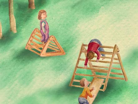 Condiciones para la motricidad global autónoma y el juego en la primera niñez.