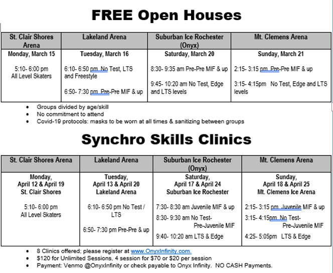 OpenHouse clinic schedule.PNG