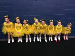 locker room ducks