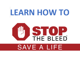 Learn How to Stop The Bleed - Save a Life