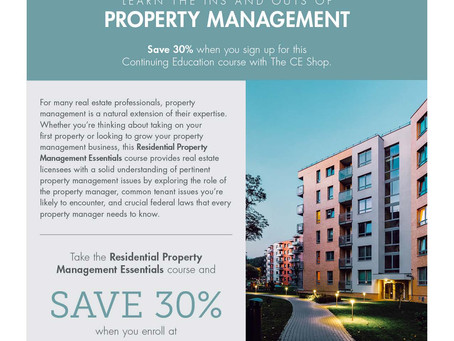 Residential Property Management Essentials course