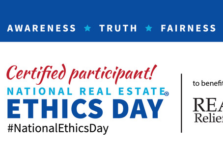 SCRAR Teams Up with Nationally Recognized Speaker for Fourth Annual National Real Estate Ethics Day®