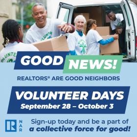 2021 REALTORS® Are Good Neighbors Volunteer Days