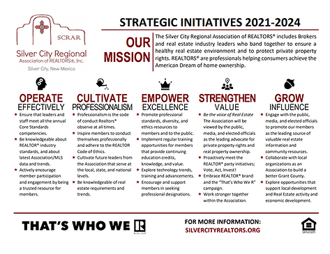 SCRAR Strategic Initiatives