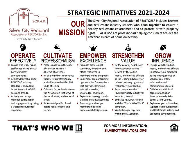 SCRAR Strategic Initiatives
