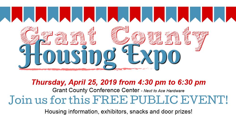 2019 Grant County Housing Expo logo