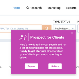 Make your prospecting decisions based on data
