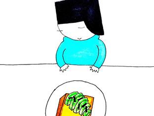 三葉虫トースト