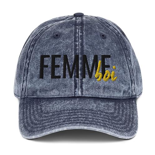 FemmeBoi Logo Hat