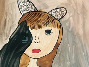 Self-Portraits: Flora Borsi