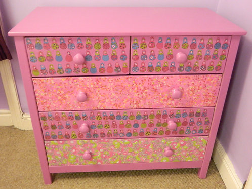 Child's Russian Doll Drawers