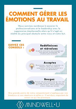 comment gerer les emotions au travail