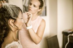 Arranging the veil