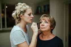 A precious moment with Mum