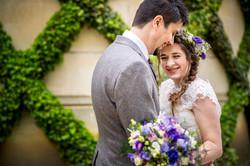 Becky: Boho Flowered Bride