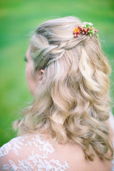 Boho Flowers and Curls
