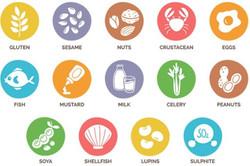Lista Allergeni - Food allergen