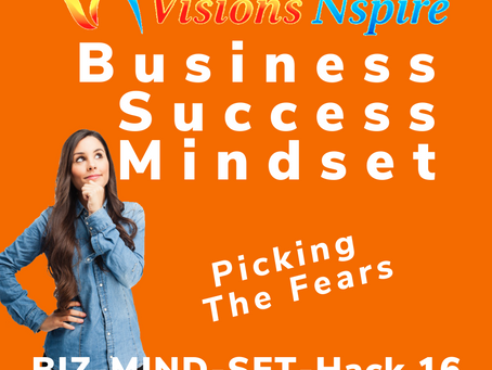 THE BIZ MINDSET HACKS - DAY 16 - Picking The Fears