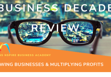 BUSINESS DECADE REVIEW - TIME TRAVEL – FOCUS 20-20