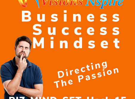 THE BIZ MINDSET HACKS - DAY 15 - Directing The Passion