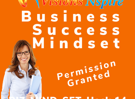 THE BIZ MINDSET HACKS - DAY 14 - Permission Granted