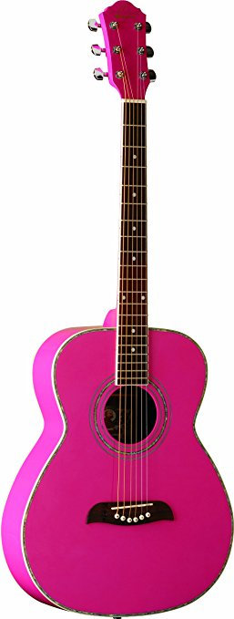 OSCAR SCHMIDT GUITAR OF2P PINK