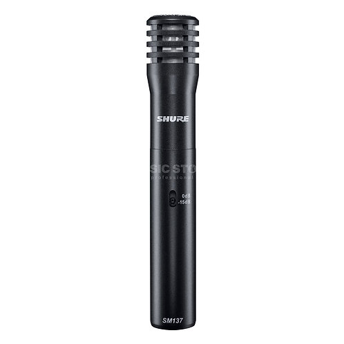 SHURE  MICROPHONE SM137-LC