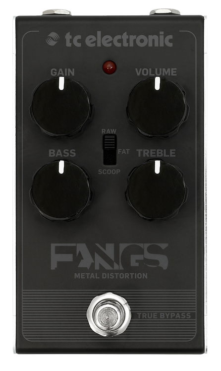 TC PEDAL FNGSMTL DISTORTION
