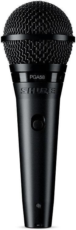 SHURE  MICROPHONE PGA58-LC