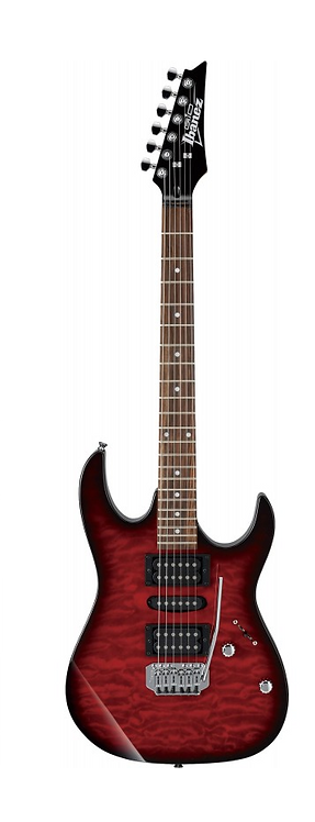 IBANEZ ELECTRIC GUITAR Left Hand GA TRANS RED