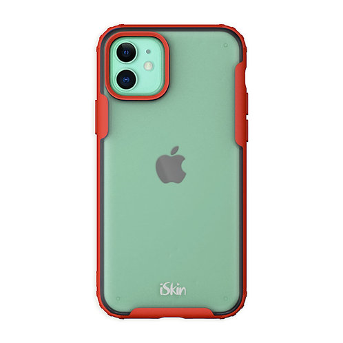 Red iSkin aura for Apple iPhone 11 Green