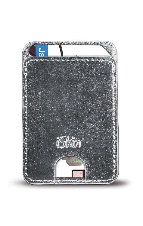 iSkin Pockets - SILVER (VERONA)