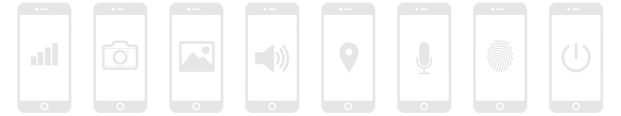 iSkin GearCare icons for iPhone