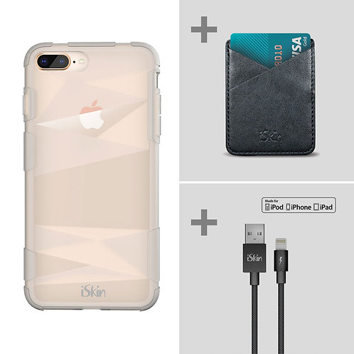Claro FX+Pocket+Lightning Cable Bundle (iPhone 7 Plus or 8 Plus)