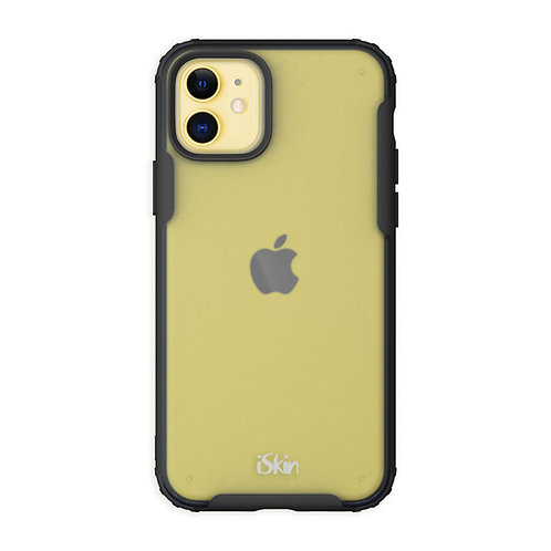 Black iSkin aura for iPhone 11 Yellow