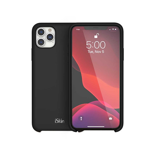 Black on iPhone 11 Pro front and back view