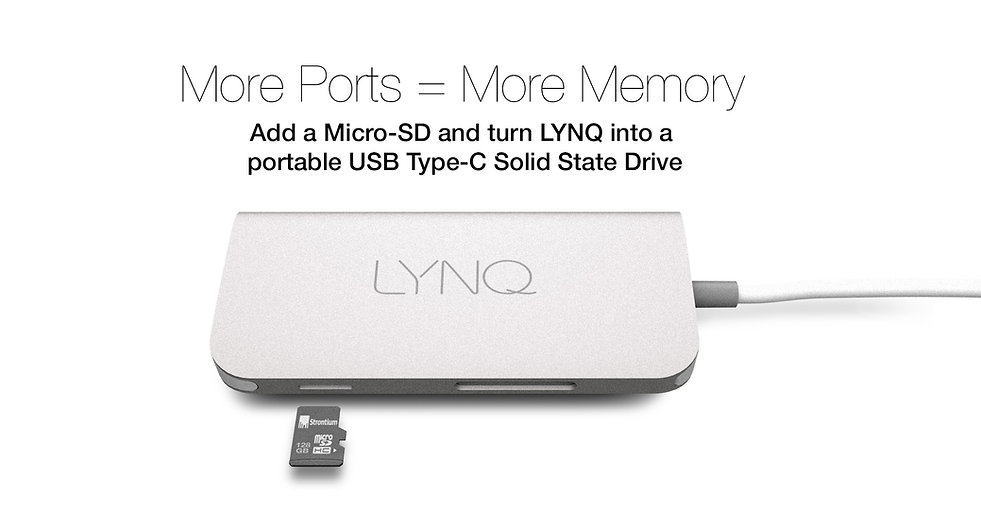 MicroSD portable hard drive for your MacBook Chromebook PC